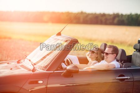 vacanza vacanze luce del sole cabriolet