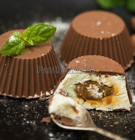 dessert da crema e cioccolato