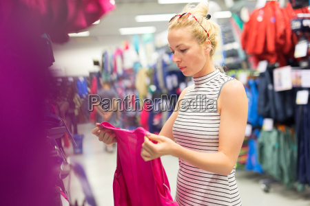 donna vendere tempo libero sport dello
