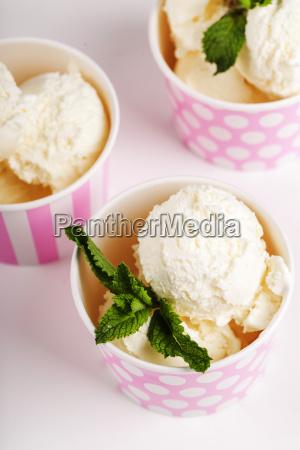 cibo panna sapore gelato dessert fondale