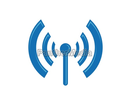 modello logo wireless