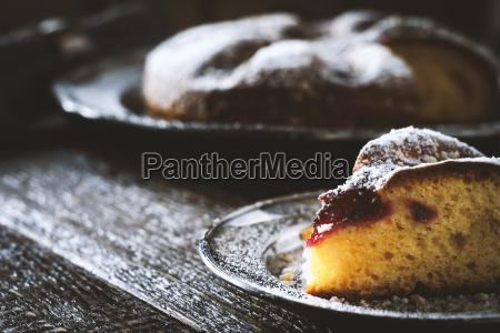 annata zucchero metallo piatto torta torte