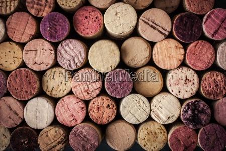 tappi vino sfondo orizzontale