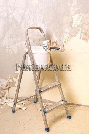 dipingere retro rinnovare decorare costruire costruzione