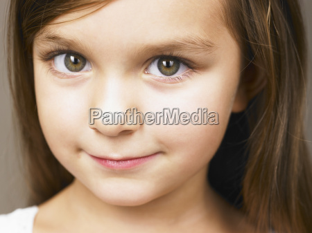 girl looking at camera
