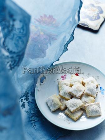 natura morta blu cibo primo piano