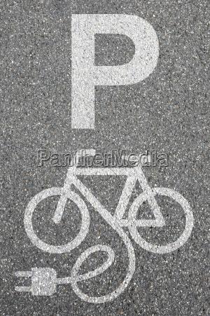 parcheggio e bike ebike e bike