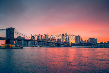 ponte di brooklyn e manhattan al
