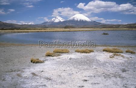 volcan, parinacota, (6330m), on, right, , volcan - 19007599