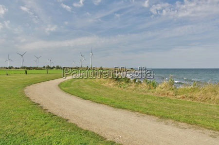 fehmarn island east coast at klausdorf