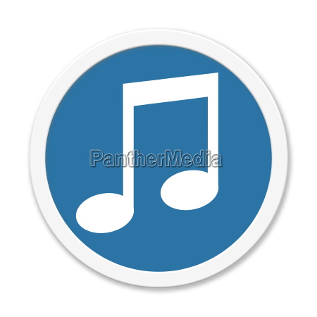 musica ascoltare pulsante note musicali