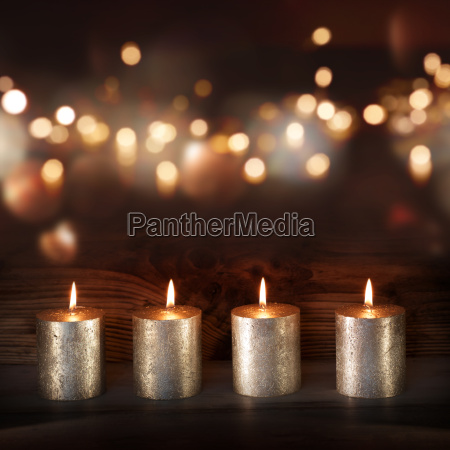 avvento argento candele natale auguri di