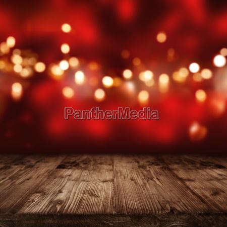 priorita bassa rossa con le luci