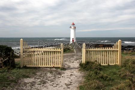 port fairy lighthouse on griffiths island
