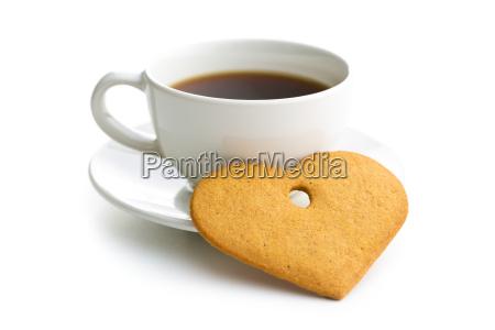 bicchiere te tea biscotto amare amore