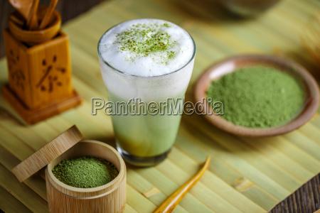 latte al te verde matcha