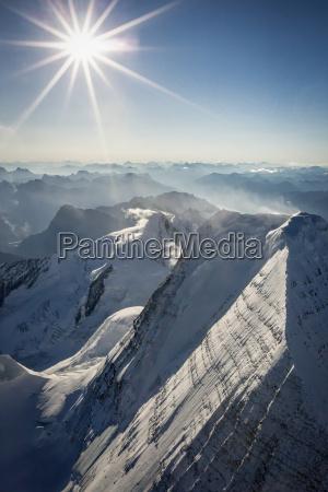 widok z lotu ptaka na gore