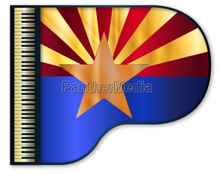 grand piano arizona flag