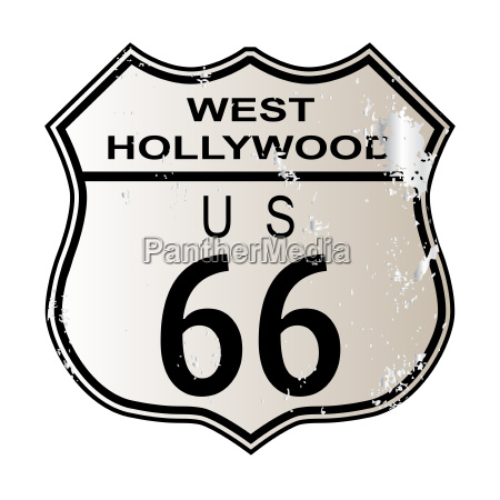 west hollywood route 66