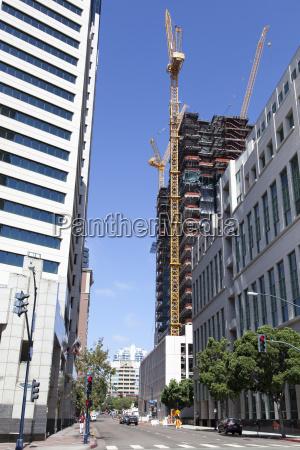 costruzione citta moderno industria california america