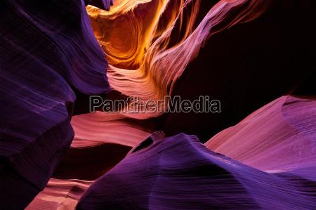 lower antelope canyon near page arizona