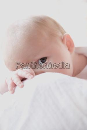baby boy studio shot