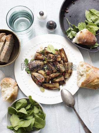 natura morta cibo pane primo piano