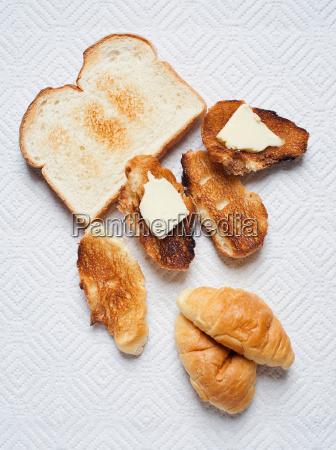 natura morta cibo pane sano still