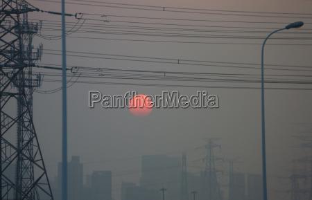 smog globalizzazione inquinamento atmosferico pechino porcellana