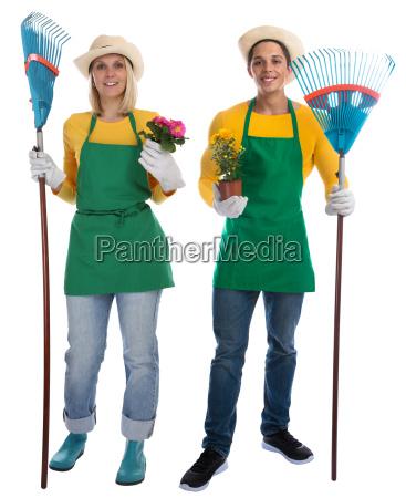 giardiniere team giardiniere giardinaggio professione aritmetica