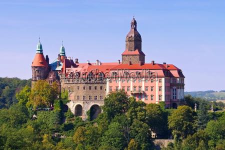 schloss fuerstenstein a schlesien castello