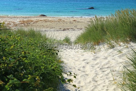 beach in brittany