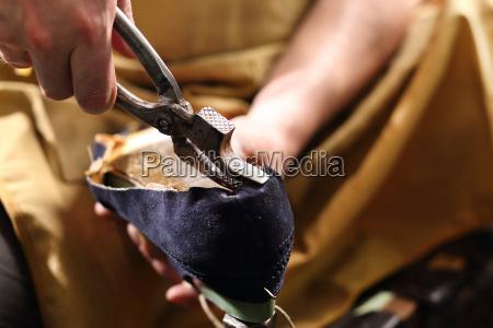 stivale calzati cucire zoccolo cuciture calzolaio