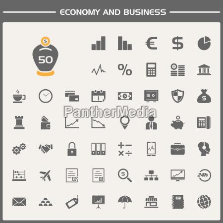 icona delleconomia e delleconomia
