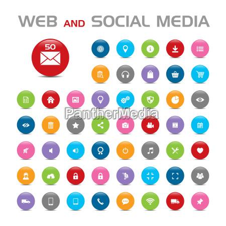social media buble icone