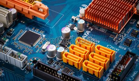 lavagna pannello processore circuito circuito elettrico