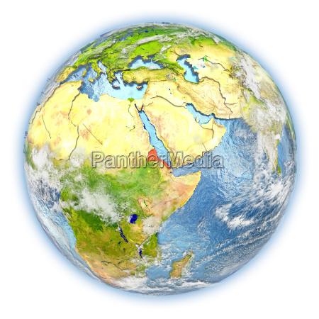 eritrea sulla terra isolata