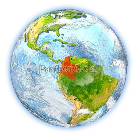 rilasciato illustrazione appartato satellite atmosfera sudamerica
