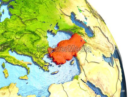 ambiente scienza asia illustrazione satellite turchia