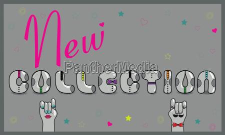 nuova collezione carattere insolito retro