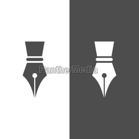 icona della penna di fontain