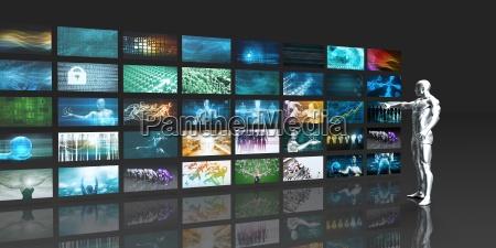 monitor schermi enorme divertimento guardare osservare