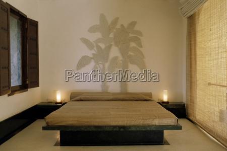 camera da letto suite con drammatico