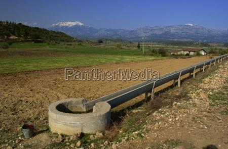 montagne agricoltura orizzontale allaperto campi turchia