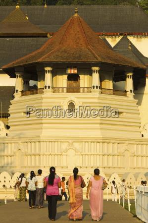 il tempio del sacro dente reliquia