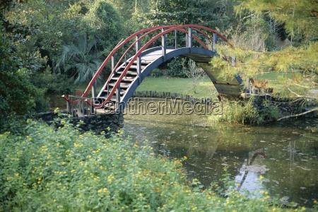 viaggio viaggiare giardino americano ponte stati