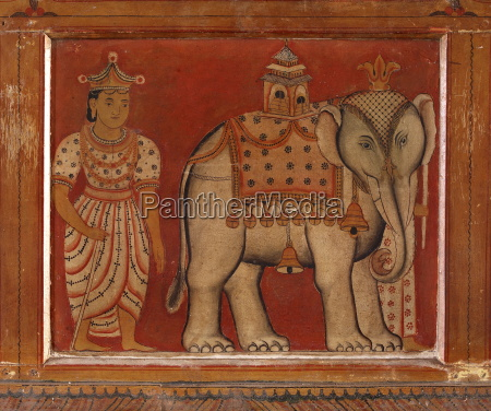 wall painting subodharama temple dating from
