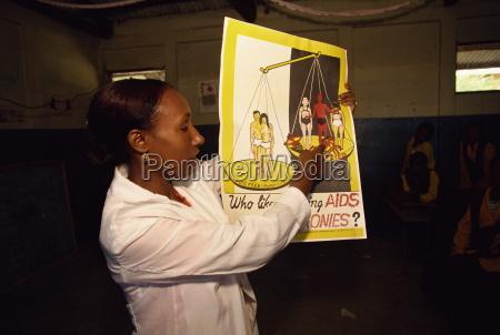 aids istruzione nella scuola harar etiopia
