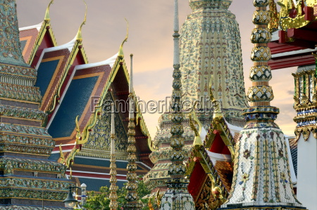 wat pho wat phra chetuphon bangkok