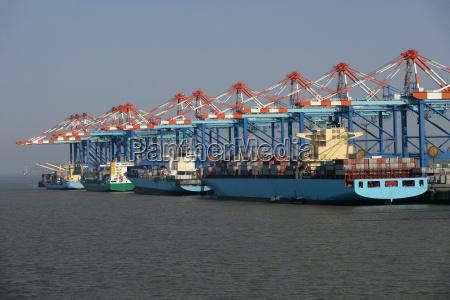 colore industria traffico nave container europa